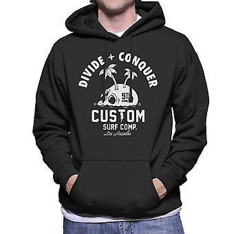 Divide & Conquer Custom Surf Comp Men's Hooded Sweatshirt