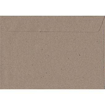 Fleck Kraft Peel/Seal C5/A5 Coloured Brown Envelopes. 110gsm FSC Sustainable Paper. 162mm x 229mm. Wallet Style Envelope.