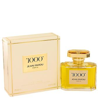 1000 by Jean Patou Eau De Parfum Spray 2.5 oz / 75 ml (Women)
