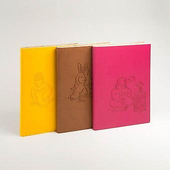 Signature A5 Animaland Sketchbook Fine Italian PU Soft Cover, Various Designs