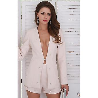 Tweedelige blazer set