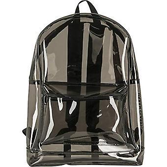 Urban Classics - Transparenter Rucksack - 50 cm - 1 -6 Liter - Farbe: transparent schwarz