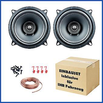 1 paar audio EVO PG ik 13.2, 13 cm dubbele conus luidsprekers past Chrysler, Citroën, Dacia, Ford, Opel, Peugeot en Renault
