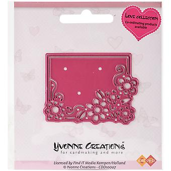 Find It Trading Yvonne Creations Love Die-Flower Frame (en anglais seulement)