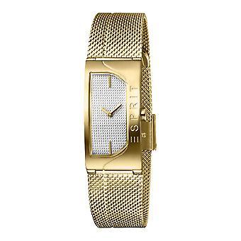 Esprit ES1L045M0035 Houston Blaze Silver Gold Mesh Women's Watch