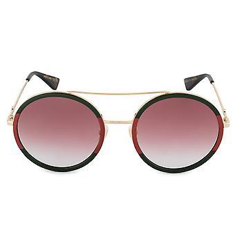 Gucci Round Sunglasses GG0061S 010 56