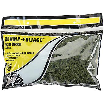 Clump Foliage 57.7 Cubic Inches-Light Green FCCLFOL-FC682