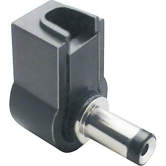 Low power connector Plug, right angle 3.8 mm 1 mm