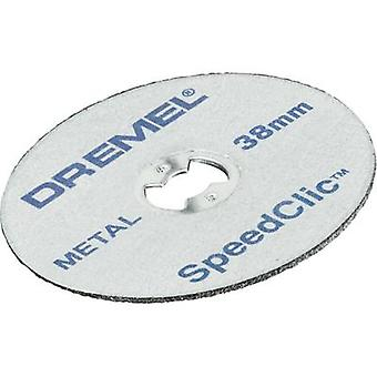 Metal cutting wheel SpeedClic™ Dremel® SC456 Dremel 2615S456JC Diameter 38 mm