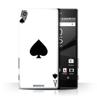 STUFF4 Case/Cover for Sony Xperia Z5/5.2/Ace of Spades/Playing Cards