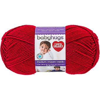 Red Heart Baby Hugs Medium-Ladybug E404-4909