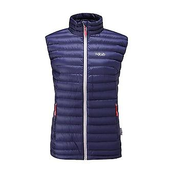 Rab Womens Microlight Vest Twilight (Size UK 10)