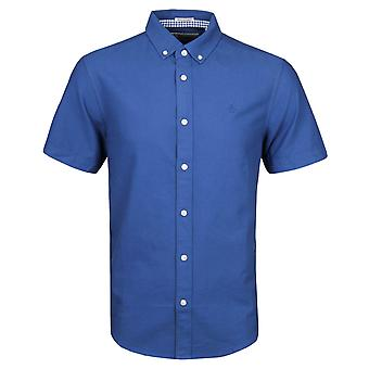 Penguin True Blue Heritage Slim Fit Short Sleeve Oxford Shirt