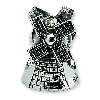 Sterling Silver Reflections Windmill Bead Charm