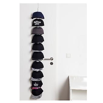 Titolare di cap Flexfit CapRack con 10 clip per fino a 30 caps