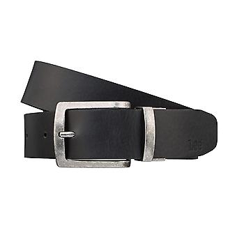 Lee belts men's belts Leather Belt Belt Black/Brown 3246