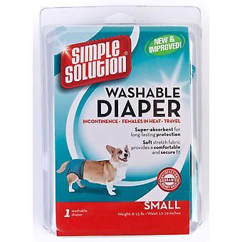 Simpel opklaring hund vaskbare bleer små