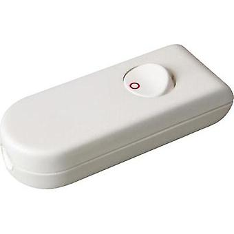 Pull switch White, Red 1 x Off/On 2 A interBär 8093-208.01 1 pc(s)