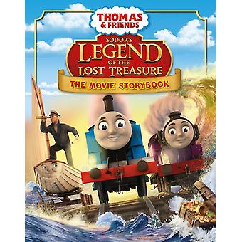 Thomas & Friends: Sodor's Legend of the Lost Treasure Movie Storybook (Thomas & Friends Movie Storybk) (Paperback)