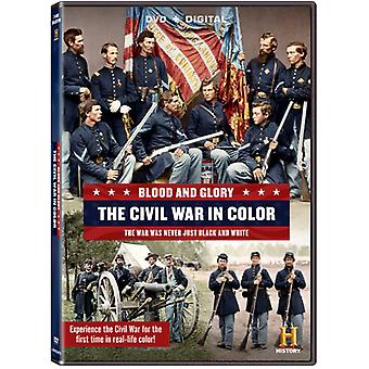 Blood & Glory: The Civil War in Color [DVD] USA import