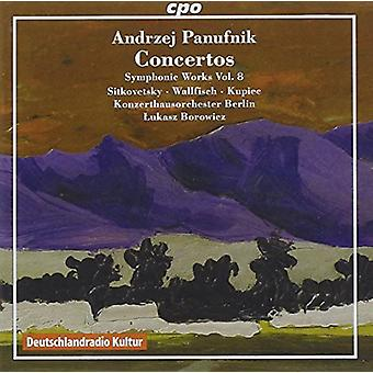 Panufnik / Sitkovetsky / Wallfisch - Symphonic Works 8 [CD] USA import