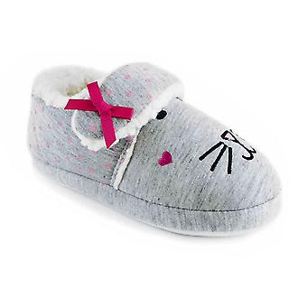 SlumberzzZ Girls Rabbit Design Full Back With Strap Classic Slipper
