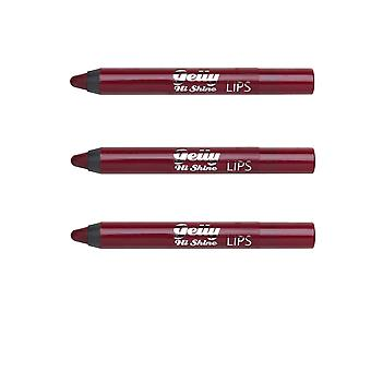 Barry M X 3 Barry M Gelly Lip Crayon Vega
