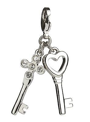 Simon Carter Key Charm - Silver