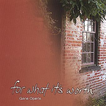 Gen Operle - dla czego to warto importu USA [CD]