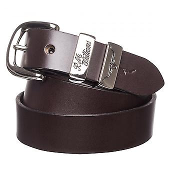 RM Williams 3 Piece 1.25 Solid Hide Belt (CB440)