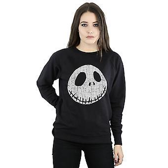 Disney kvinners Nightmare før jul Jack sprakk ansikt Sweatshirt