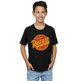 Disney Boys Cars Rust-Eze Logo T-Shirt