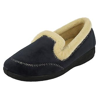 Ladies Four Seasons Slip On Slippers Kylie