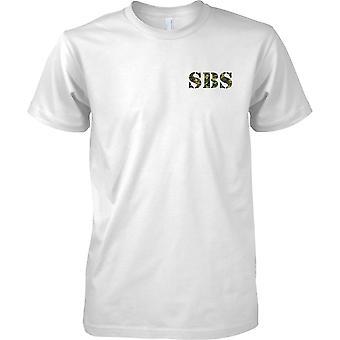 SBS - spezieller Bootsservice - königliche Marine Special-Forces - Kinder-Brust-Design-T-Shirt