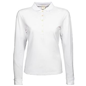 Tee Jays Womens/Ladies Luxury Stretch Long Sleeve Polo Shirt