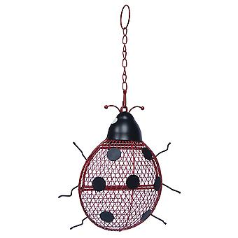 Supa Contemporary Wild Bird Ladybird Peanut Feeder