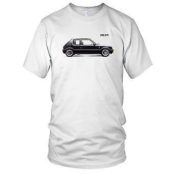 Peugeot 205 Gti Classic Car Herren-T-Shirt