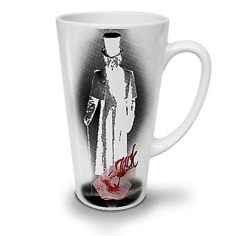 Jack The Ripper Fear NEW White Tea Coffee Ceramic Latte Mug 17 oz | Wellcoda