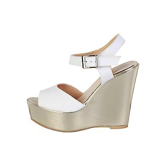 Made in Italia Women Wedges White
