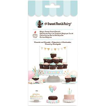 Sweet Tooth Fairy  Magic Sweet Stand Decals 8 Sheets/Pkg-  341984