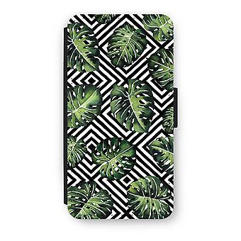 Huawei Ascend P10 Flip Case - Geometric jungle