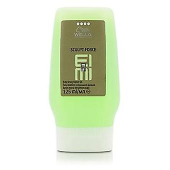 EIMI Wella Sculpt Force extrastarke Flubber Gel (Hold-Stufe 4) - 125ml/4,23 Unzen