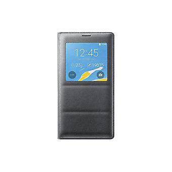 Samsung S-View Flip Cover Samsung Galaxy Note 4 (Charcoal Black) - EF-CN910BCEST