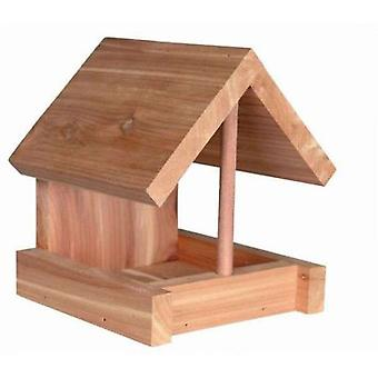Trixie Casita Trough, Cedar Wood, 16X15X13Cm, Natural