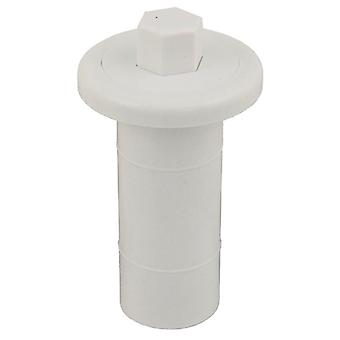 Allied Innovations 950410-000 Air Button #4 Lite Touch for Gunite - White