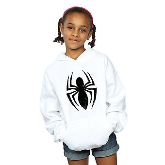 Marvel Girls Spider-Man Ultimate Spider Logo Hoodie