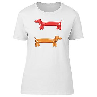 Air Balloon Daschund Tee Women's -Image by Shutterstock