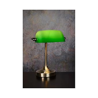 Lucide Bankers Office Bronze Table Lamp