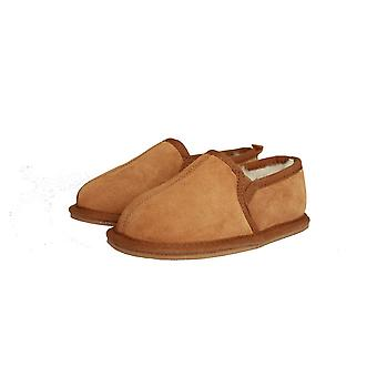 Eastern Counties Leather Childrens/Kids Sheepskin Lined Slippers