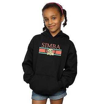 Disney Girls The Lion King Simba Stripes Hoodie